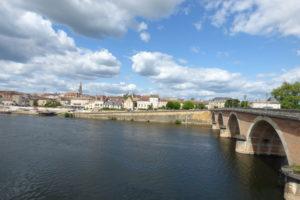 Bel Air de Rosette - Bergerac vue depuis le faubourg