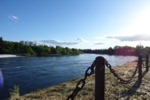 Bel Air de Rosette - Dordogne depuis le barrage
