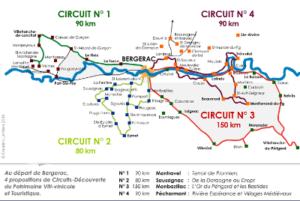 Bel Air de Rosette - Circuits des routes des vins