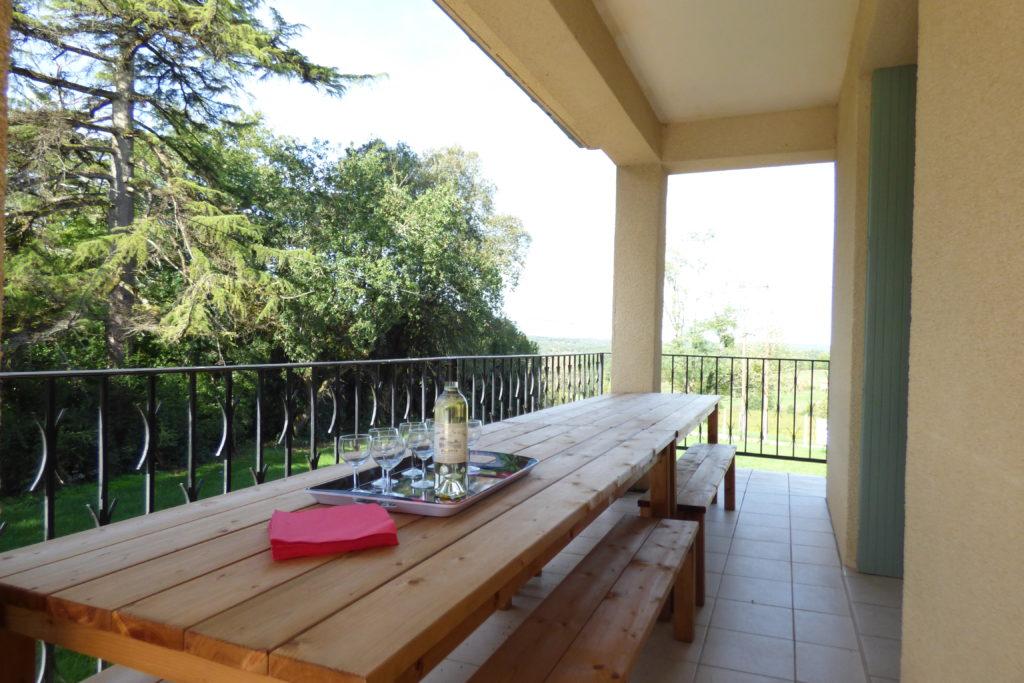 "Bel Air de Rosette - Gîte ""Terrasse panoramique"""