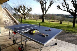 Bel Air de Rosette - Table de ping-pong