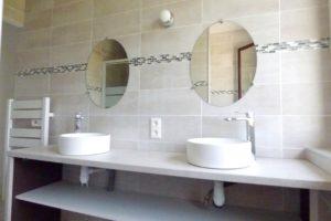 Bel Air de Rosette - Salle d'eau double vasque