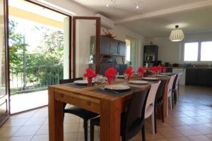 Bel Air de Rosette - Grande table conviviale